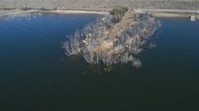 Het Reservoir van de Hubbardkreek, TX Royalty-vrije Stock Afbeelding