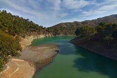 Het Reservoir van Gr Agujero Stock Afbeeldingen