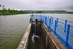 Het reservoir van het damwater Stock Foto