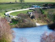 Het reservoir van het Lymepark Stock Foto's