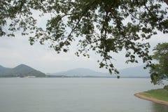 Het Reservoir van klapphra, Chonburi-Provincie, Thailand royalty-vrije stock foto