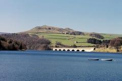Het reservoir van Ladybower Stock Foto