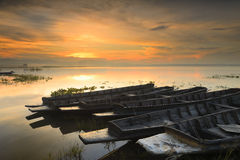 Het reservoir van Phra van de zonsopgangklap royalty-vrije stock foto