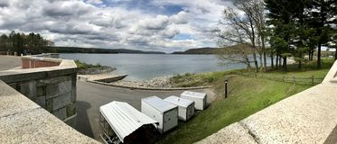 Het reservoir van Quabbin Stock Fotografie