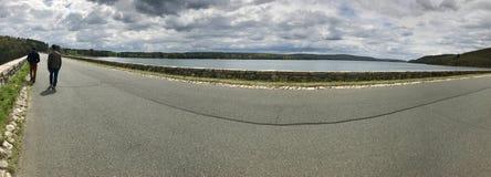 Het reservoir van Quabbin Royalty-vrije Stock Foto's