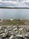 Het reservoir van Quabbin Stock Foto's