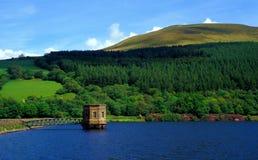 Het Reservoir van Talybont Stock Fotografie