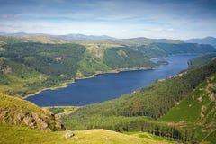 Het Reservoir van Thirlmere Stock Foto