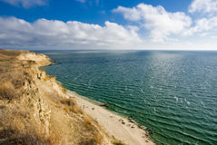 Het reservoir van Tsimlyansk Stock Fotografie