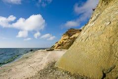 Het reservoir van Tsimlyansk van de kust Royalty-vrije Stock Foto