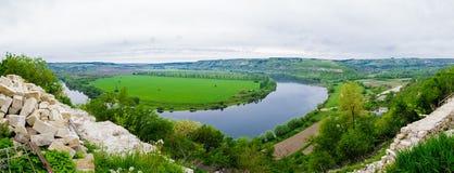 Het reservoirlandschap van Dniester Royalty-vrije Stock Foto's