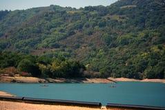 Het reservoirochtend van de Kreek van Stevens royalty-vrije stock afbeeldingen