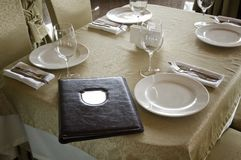 Het restaurant Royalty-vrije Stock Afbeelding