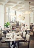 Het restaurant van Amsterdam Stock Foto