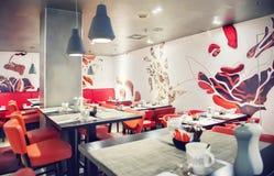 Het restaurant van Amsterdam Stock Afbeelding
