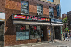 Het restaurant van de Chinatownbejing van Montreal Stock Afbeeldingen
