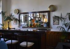 Het Restaurant van de Koffie van de hooimijt, Casablanca, 20,2012 April Royalty-vrije Stock Fotografie