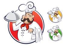 Het restaurant van de kok. Royalty-vrije Stock Foto's
