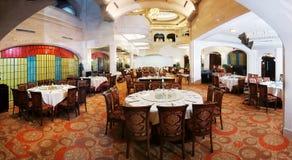 Het restaurant van de luxe royalty-vrije stock afbeelding