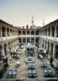 Het restaurant van de moskee stock afbeeldingen