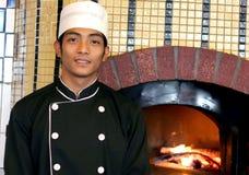 Het restaurant van de pizza Stock Foto
