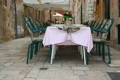 Het Restaurant van de straat Royalty-vrije Stock Foto