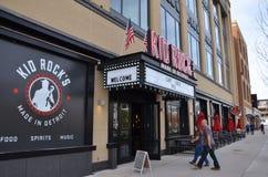 Het restaurant van Detroit Kid Rock ` s stock afbeeldingen