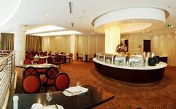 Het restaurant van het buffet Royalty-vrije Stock Afbeeldingen