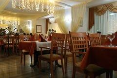 Het restaurant van het hotel Stock Foto