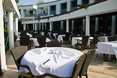 Het Restaurant van het hotel Royalty-vrije Stock Foto
