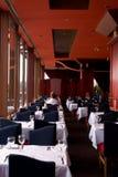 Het Restaurant van het hotel stock afbeelding