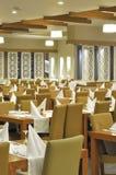 Het Restaurant van het Hotel van de luxe Stock Afbeeldingen