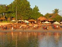 Het Restaurant van het strand Stock Foto