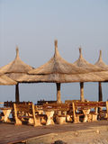Het restaurant van het strand Royalty-vrije Stock Afbeeldingen