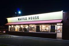 Het restaurant van het wafelhuis royalty-vrije stock foto's