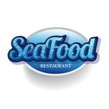 Het restaurant van het zeevruchtenmenu stock illustratie