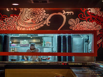 Het restaurant van Japan stock foto