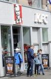 Het restaurant van Kfc Stock Afbeelding