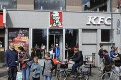 Het restaurant van Kfc Stock Fotografie