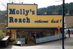 Het restaurant van lange strandgolven Royalty-vrije Stock Afbeeldingen