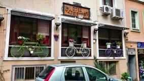 Het Restaurant van Nice Stock Foto's