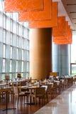Het Restaurant van Upscale stock foto