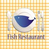 Het restaurant van vissen royalty-vrije illustratie