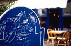Het restaurant van vissen Royalty-vrije Stock Afbeelding