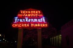 Het Restaurant van Zehndersfrankenmuth Stock Foto's