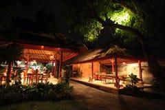 HET RESTAURANThotel VAN AZIË INDONESIË BALI UBUD Stock Foto's