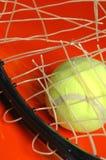 Het restring van het tennis Stock Afbeeldingen
