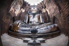 Het reuze standbeeld van Boedha in Thailand royalty-vrije stock fotografie