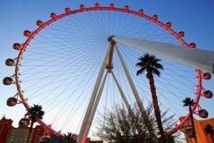 Het Reuzenrad, Las Vegas Royalty-vrije Stock Foto's