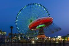 Het Reuzenrad in Suzhou, China Royalty-vrije Stock Foto's
